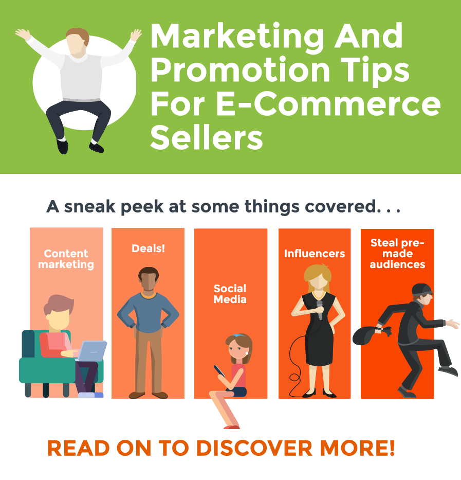 Marketing and Promotion Tips (Free and Paid Channels) For E-Commerce Sellers From Experts