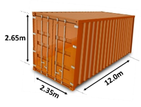 Shipping Containers Sizes | Which size do I need? 40ft