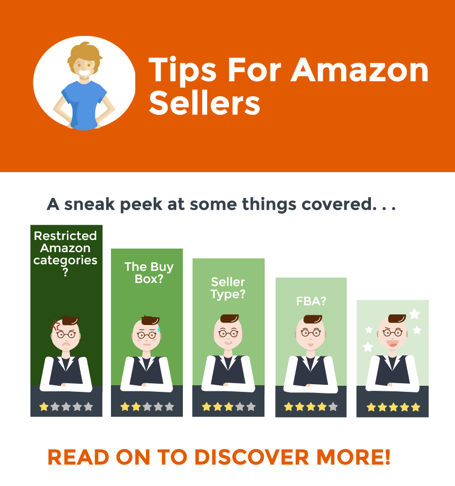 E-Commerce Sellers Advice, Selling on eBay Tips, Amazon Tips