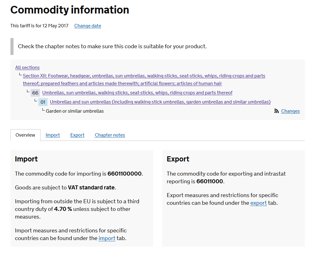 How To Find Your Product's Commodity Code On The UK Trade